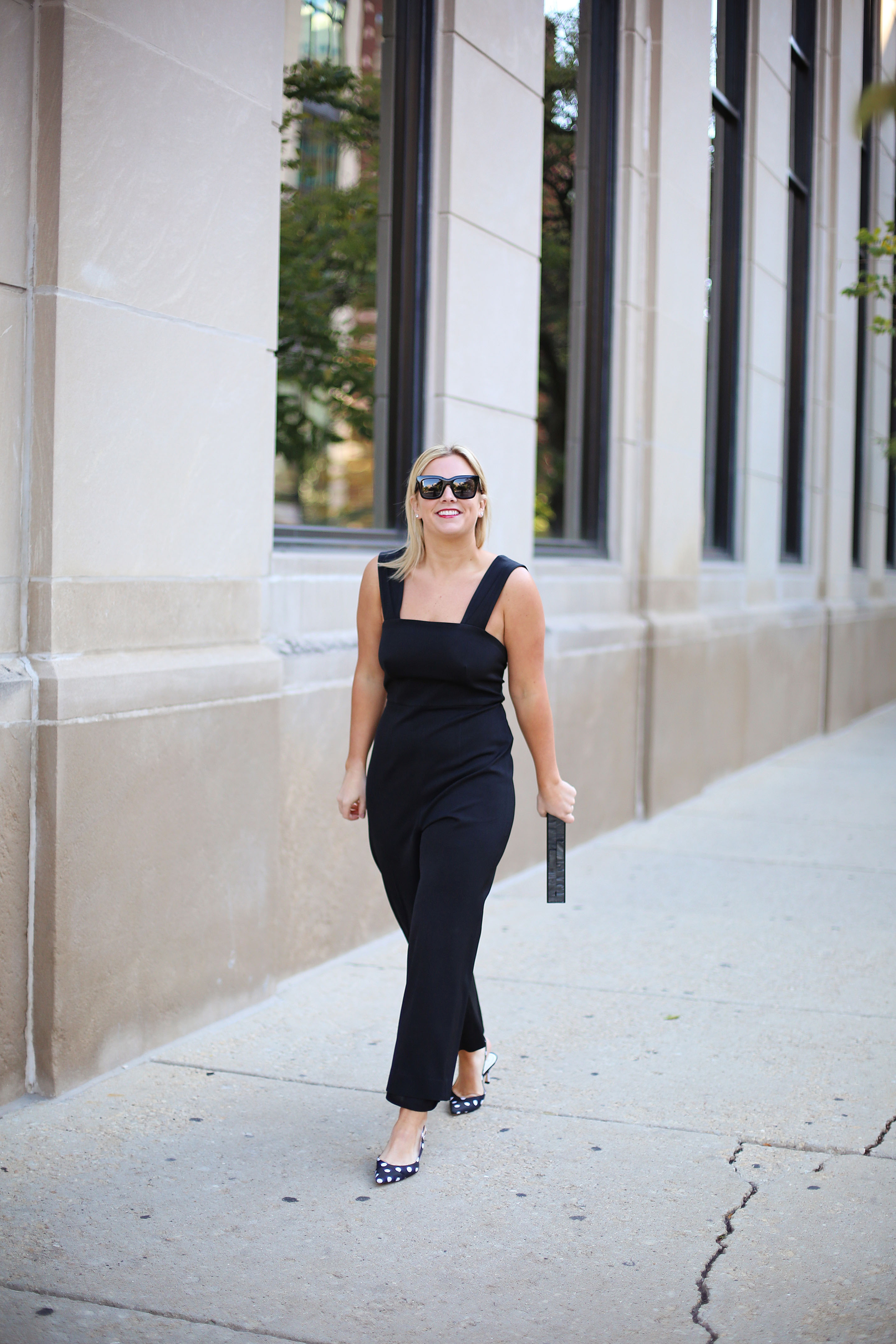 Black jumpsuit that works for any occassion